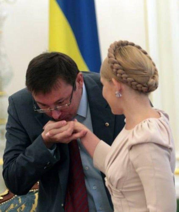 Луценко Тимошенко