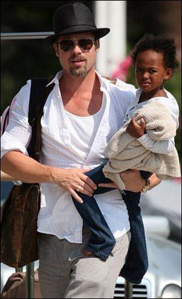 Дети Джоли и Питта разгромили дом Клуни