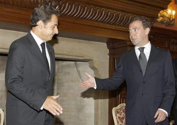 Саркозі - Мєдвєдєв