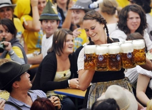 В Германии начался Октоберфест (фото)