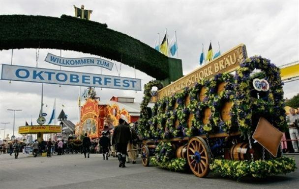 В Германии начался Октоберфест (видео)