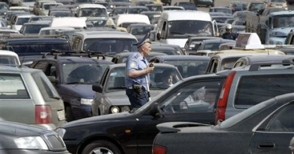Пробка у Москві