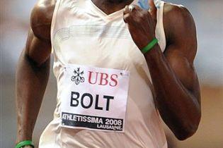 Новая цель Болта - рекорд мира на 400-метровке?