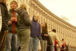 На улицы Киева вышли глухие (видео)