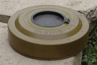 В Черкассах в парке нашли противотанковую мину