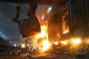 Украина резко увеличила выплавку стали