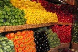 Киевские рынки отказались от импортных овощей