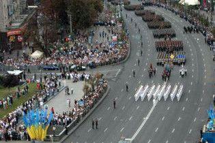 В Киеве 24 августа ограничат движение транспорта