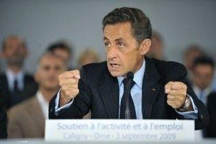 Саркози призвал развивающиеся страны строить новые ядерные реакторы