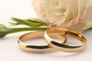 В Украине рекордно сократилось количество браков