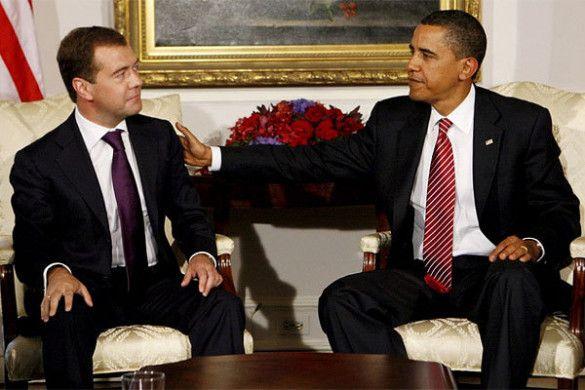 Дмитро Мєдвєдєв, Барак Обама
