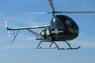 В Ялте упал вертолет, 1 человек погиб