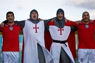 Английские болельщики подготовили сюрприз для сборной Уэльса