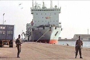 Украинские моряки после ареста в Конго прибыли на Родину