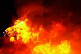 На Сумщине загорелись склады ядохимикатов