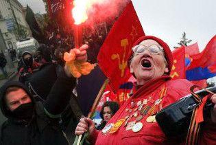 Рада отказалась делать день Октябрьской революции государственным праздником