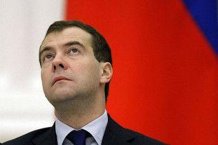 Приезд Медведева парализует движение в Киеве