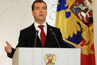 Медведев готов возобновить сотрудничество с президентом Украины
