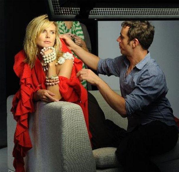 Хайди Клум стала лицом рождественской коллекции Ann Taylor