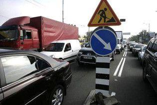 Из-за ремонта дорог Киев ожидает транспортный коллапс: карта пробок