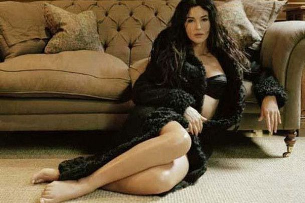 45-летняя Моника Белуччи беременна
