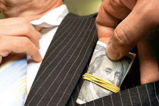 Крупнейшая в Украине взятка составила 2,5 млн грн