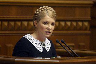 Тимошенко выступила против досрочных выборов в Раду