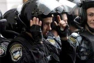 """Милиция выводит на улицы резерв """"Беркута"""" и внутренних войск"""