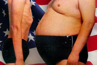 Из-за толстяков и алкоголиков США теряют 370 млрд  долларов ежегодно