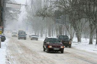 Непогода парализовала Киев: длина пробок - 500 км