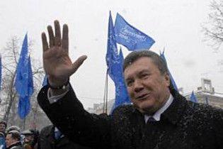 Янукович рассказал, зачем разбил под ЦИК палаточный городок