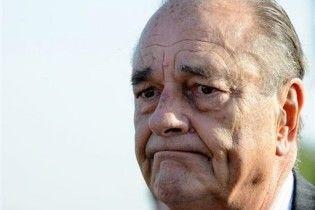 Во Франции суд над Шираком признан законным