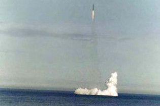 Россия произвела успешный запуск баллистической ракеты