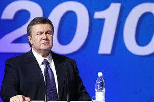 Янукович описал политические перспективы своей жены