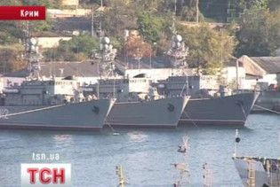 Черноморский флот России перестанет выходить в море до 2015 года