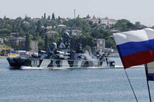Российские корабли отправились в украинские порты для участия в парадах