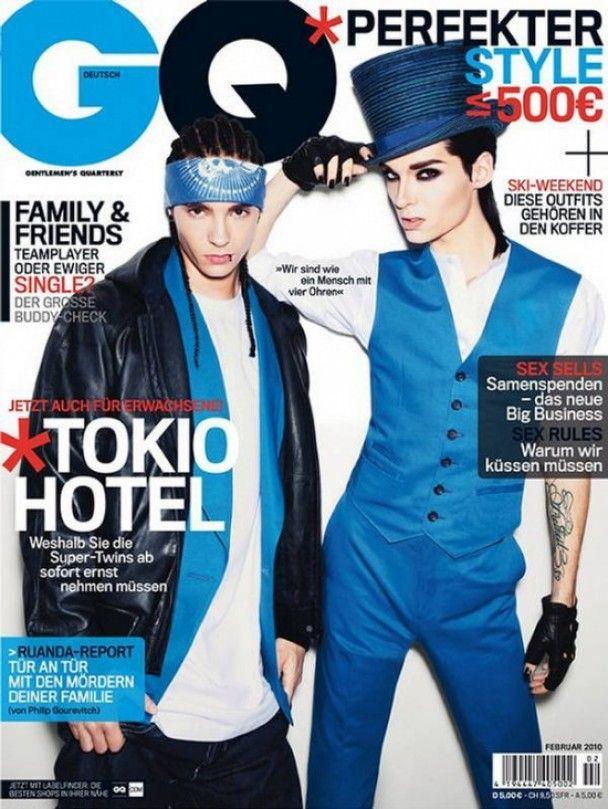 Токио Hotel снялись для GQ