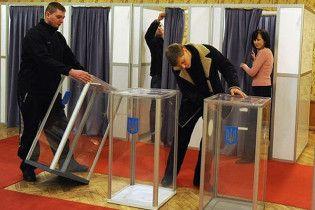 МИД: украинцы за границей не пошли на выборы из-за плохой погоды