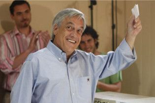 На выборах президента в Чили победил Пиньера