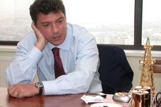 Немцов удивлен высоким результатом Тимошенко