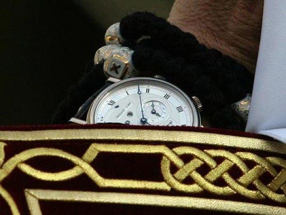 Годинник патріарха Кирила