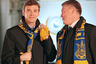 Шевченко и Блохин назначены послами Евро-2012