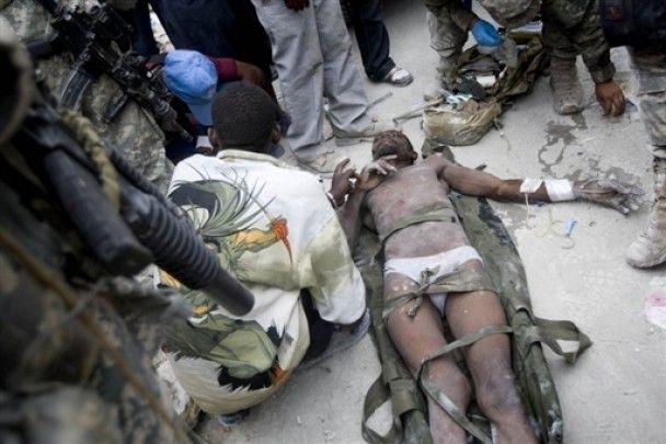 Саркози пообещал Гаити 270 миллионов евро