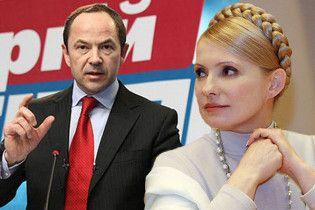 Тимошенко и Тигипко разошлись в газовых вопросах