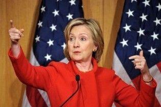 Клинтон о ситуации в Ливии: наша цель - свержение Каддафи