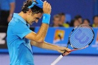 Федерер первым вышел в 1/4 финала Уимблдона