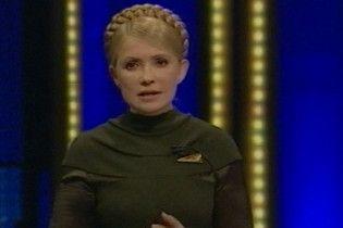 Тимошенко: пустое место не должно стать президентом