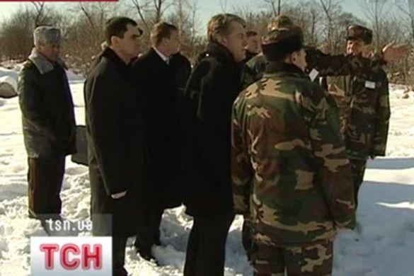 Віктор Ющенко в Калуші