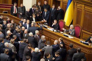 Рада изменила закон о выборах в редакции Партии регионов