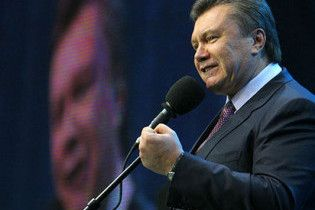 Янукович пожелал дончанам быть хозяевами страны